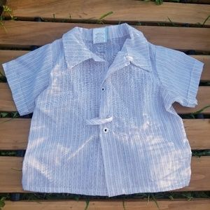 Vintage 18 month old Pinstripe Shirt